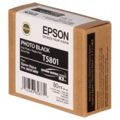Epson Tinte T5801 photo black 80 ml