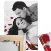 Fotoleinwand matt Format 100 cm