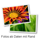 Fotos ab Daten mit Rand